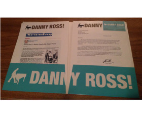 Danny Ross – Introducing Press Pack – 2007